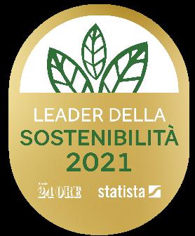 Logo leader della sostenibilità 2021